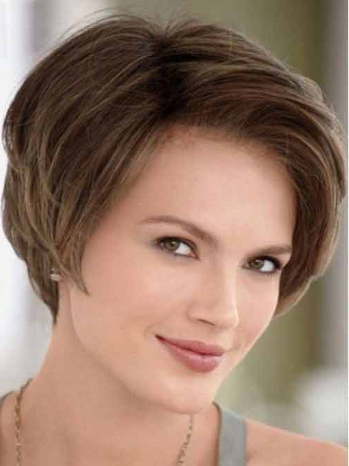 45 Hypnotic Short Hairstyles For Women With Square Faces For Neat Short Rounded Bob Hairstyles For Straight Hair (View 17 of 25)