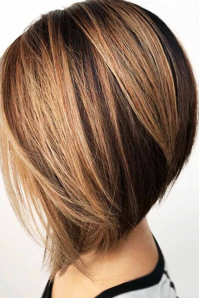 45 Ideas Of Inverted Bob Hairstyles To Refresh Your Style For Voluminous Nape Length Inverted Bob Hairstyles (View 3 of 25)