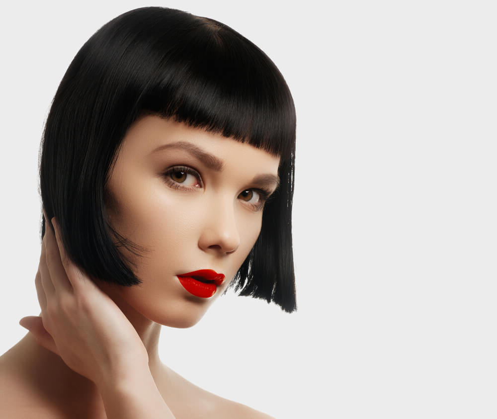 45 Short Hairstyles & Cuts For Fine Hair In 2018 (Women) Throughout Short Hairstyles With Bangs For Fine Hair (View 11 of 25)