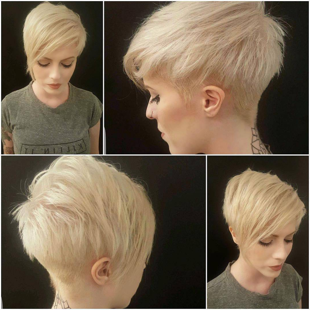 45 Trendy Short Hair Cuts For Women 2018 – Popular Short Hairstyle Ideas In Short Female Hair Cuts (View 9 of 25)