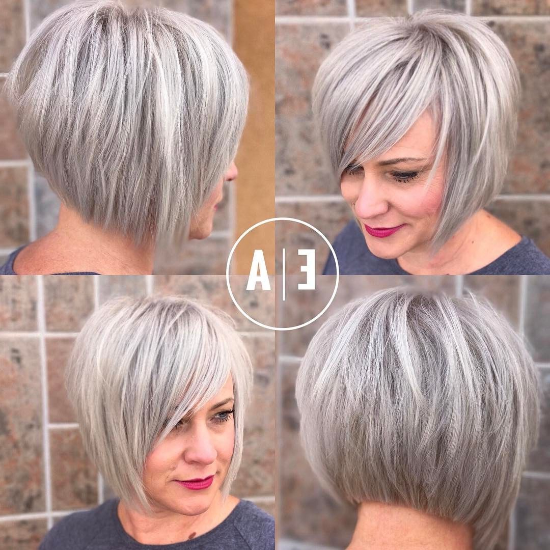45 Trendy Short Hair Cuts For Women 2018 – Popular Short Hairstyle Regarding Trendy Short Hairstyles (View 2 of 25)