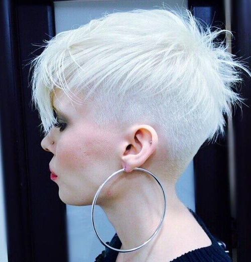 47 Amazing Pixie Bob You Can Try Out This Summer! With Ash Blonde Undercut Pixie Haircuts (View 20 of 25)