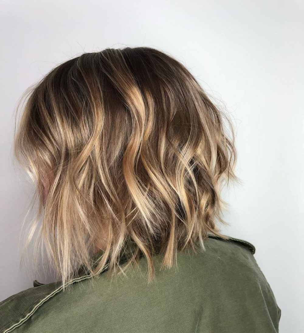 47 Popular Short Choppy Hairstyles For 2018 In Short Choppy Layered Bob Haircuts (View 21 of 25)