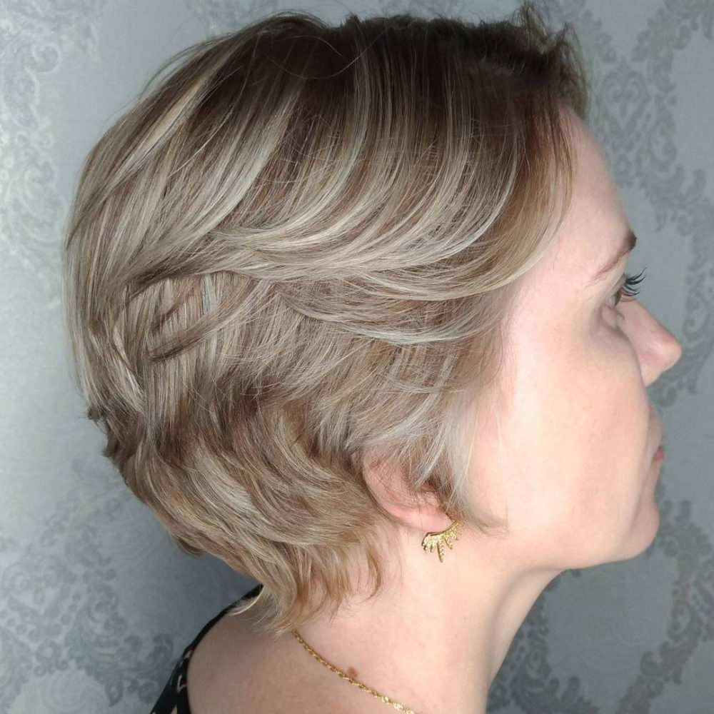 47 Popular Short Choppy Hairstyles For 2018 Within Choppy Short Hairstyles For Older Women (View 4 of 25)