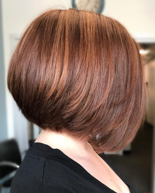 49 Chic Short Bob Hairstyles & Haircuts For Women In 2018 In Short Bob Hairstyles With Tapered Back (View 13 of 25)