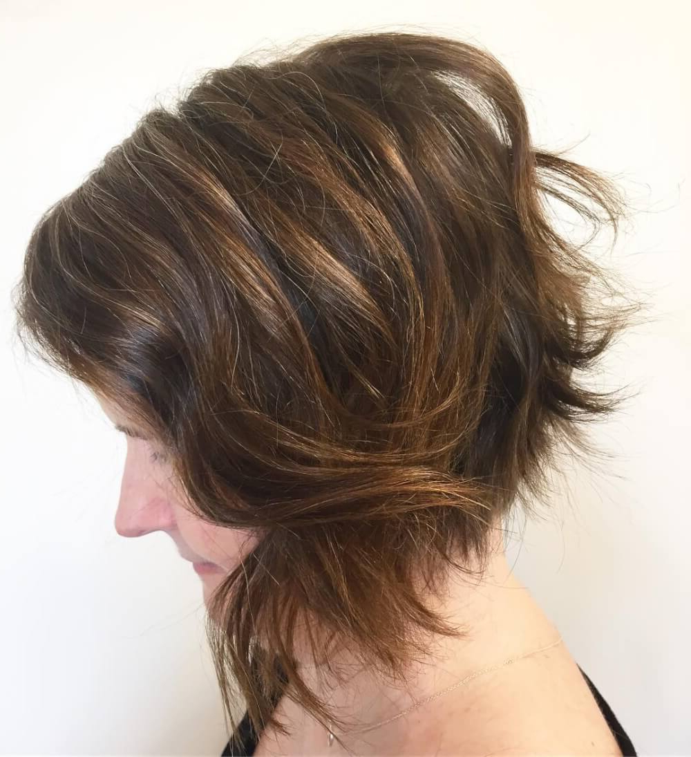 49 Chic Short Bob Hairstyles & Haircuts For Women In 2018 With Regard To Wavy Sassy Bob Hairstyles (View 6 of 25)