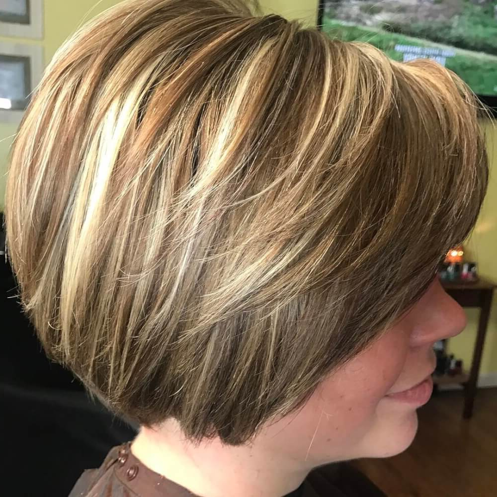 49 Chic Short Bob Hairstyles & Haircuts For Women In 2018 With Short Bob Hairstyles With Long Edgy Layers (View 14 of 25)