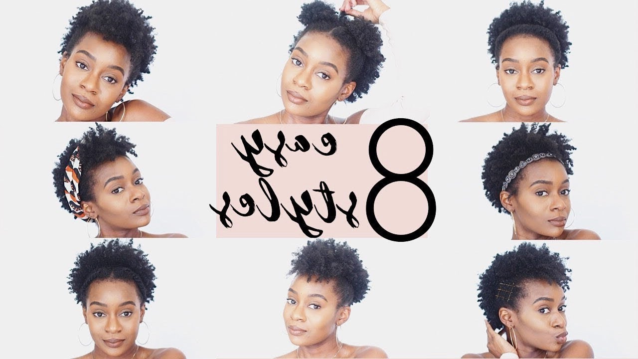 4C Natural Hairstyles | 8 Easy Hairstyles For Short 4C Natural Hair Regarding 4C Short Hairstyles (View 5 of 25)
