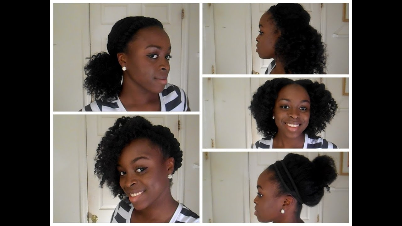 5 Back To School Hairstyles For Natural Hair – Youtube Intended For Cute Short Hairstyles For Black Teenage Girls (View 7 of 25)