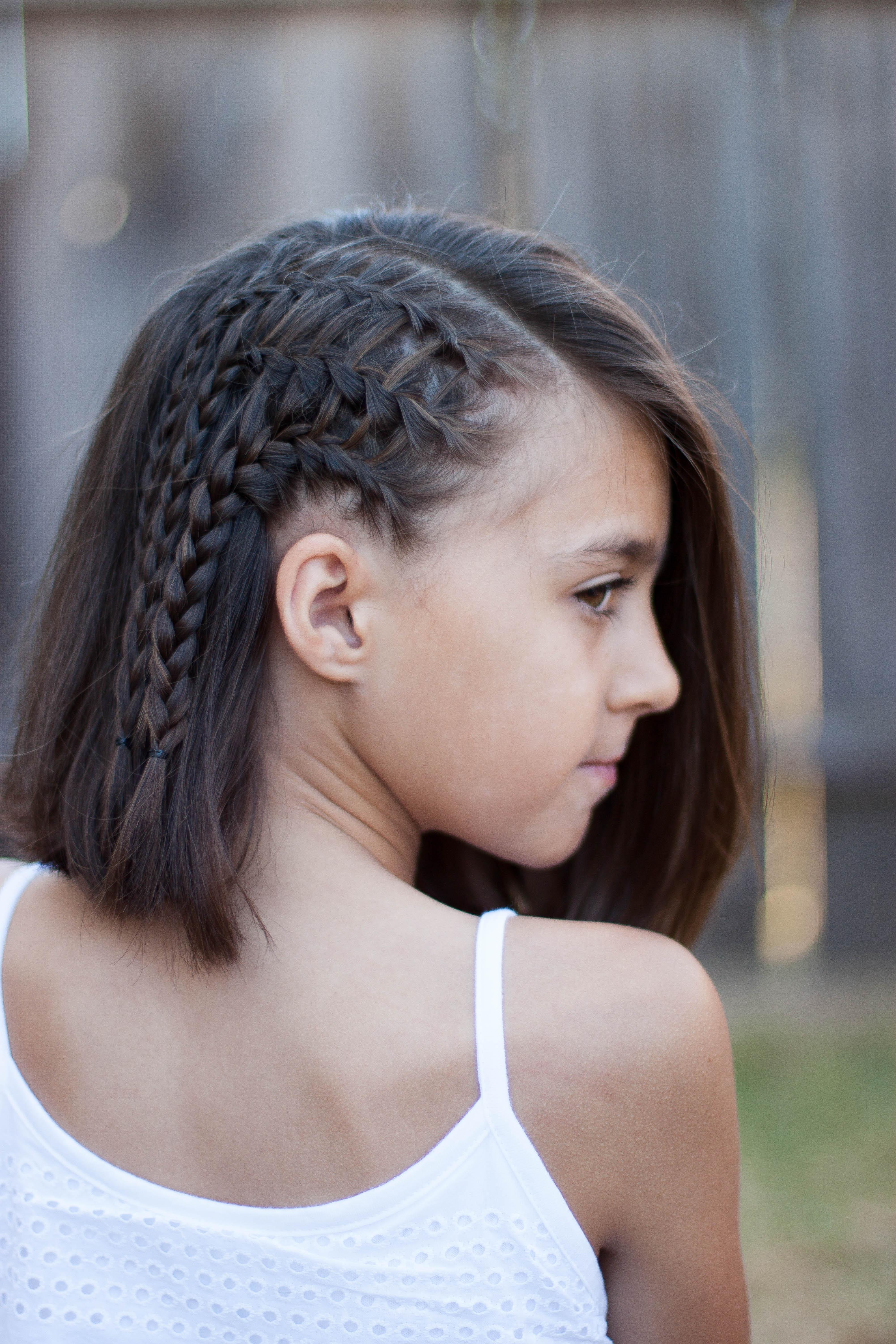5 Braids For Short Hair | Cute Girls Hairstyles Regarding Cute Hairstyles For Shorter Hair (View 11 of 25)