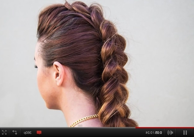 5 Cool Fauxhawk Hairstyles To Try This Season – Fashionising For Faux Hawk Ponytail Hairstyles (View 8 of 25)