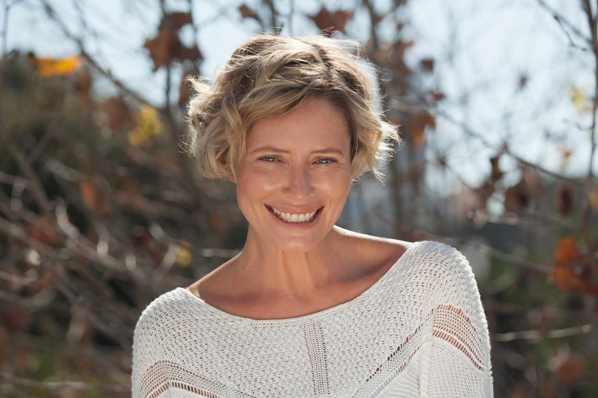 5 Cool Shoulder Length And Short Haircuts For Women Over 40 Inside Short Haircuts For Women Over 40 With Curly Hair (View 8 of 25)