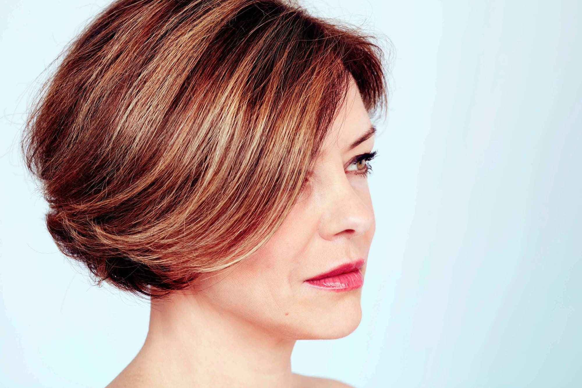 5 Cool Shoulder Length And Short Haircuts For Women Over 40 Within Short Haircuts For Women Over  (View 16 of 25)
