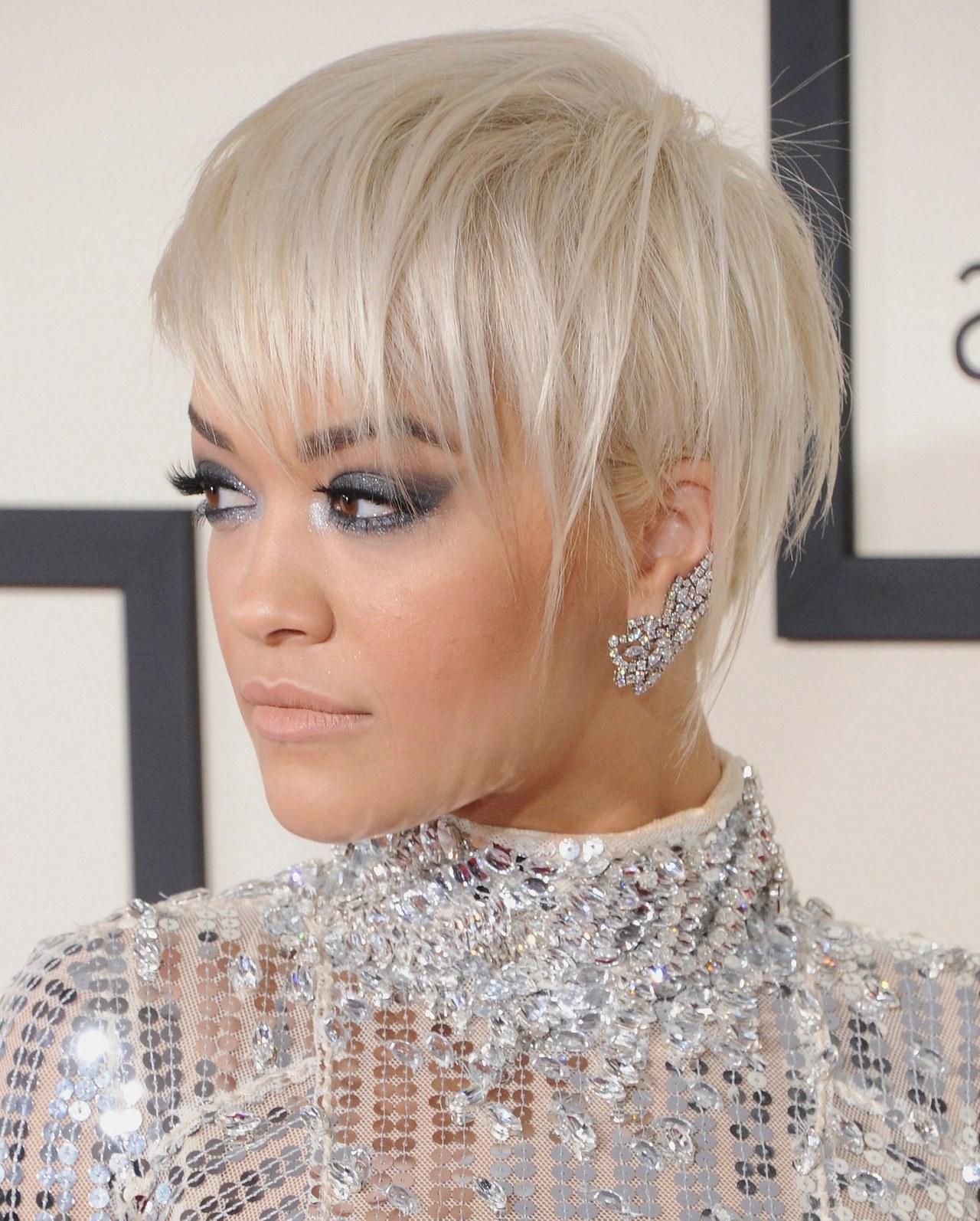 5 Fantastic Short Haircuts That Aren't Bobs On Rita Ora, Zendaya Intended For Rita Ora Short Hairstyles (View 9 of 25)