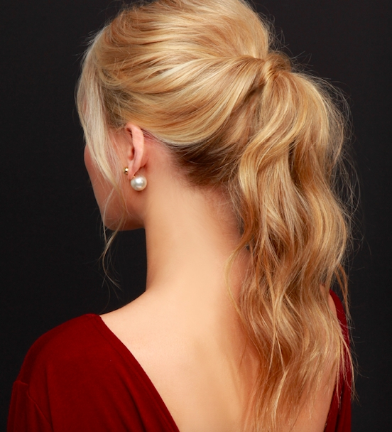 5 Romantic Hairstyles For Valentine's Day – Bang Salon   Bang Salon Regarding Romantic Ponytail Hairstyles (View 3 of 25)