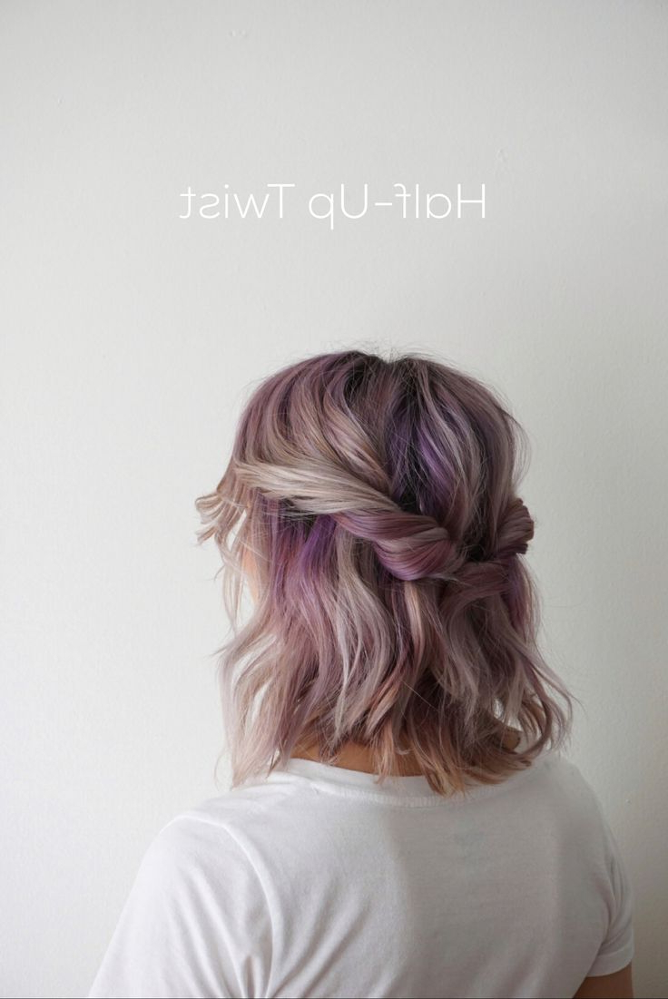 5 Ways To Style Shoulder Length Hair … | Hair In 2018… Inside Cute Short Hairstyles For Homecoming (View 25 of 25)