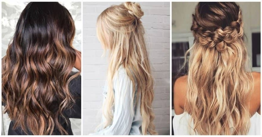 50 Amazing Long Hairstyle Inspirations With Loosey Goosey Ponytail Hairstyles (View 23 of 25)