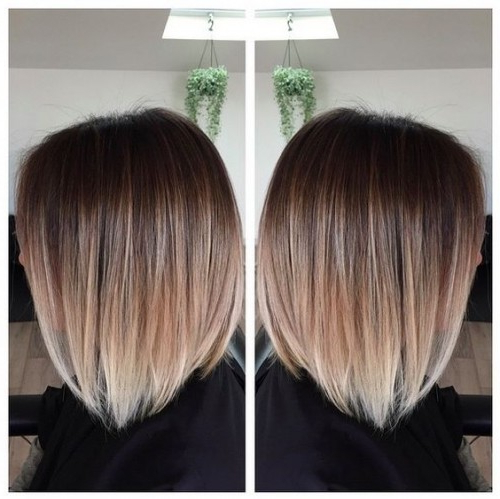 50 Balayage Hair Color Ideas – Herinterest/ Throughout Short Crisp Bronde Bob Haircuts (View 16 of 25)