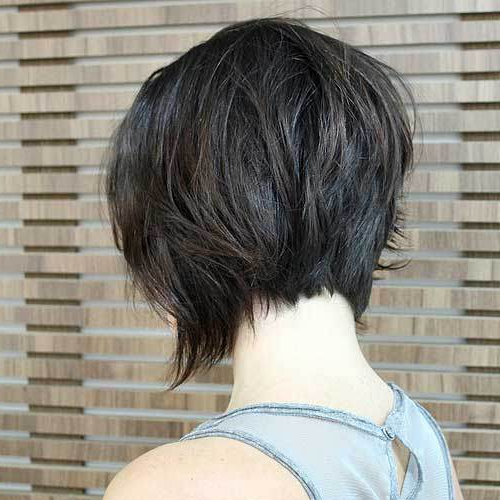 50 Best Inverted Bob Hairstyles 2018 – Inverted Bob Haircuts Ideas Pertaining To Inverted Brunette Bob Hairstyles With Feathered Highlights (View 17 of 25)