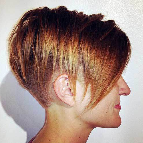 50 Best Inverted Bob Hairstyles 2018 – Inverted Bob Haircuts Ideas With Regard To Short Bob Hairstyles With Tapered Back (View 14 of 25)