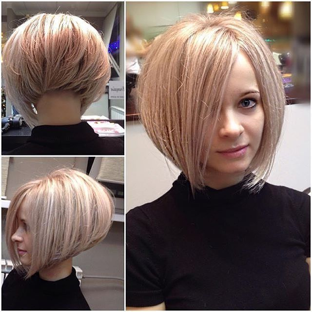 50 Best Inverted Bob Hairstyles 2018 – Inverted Bob Haircuts Ideas With Regard To Sleek Rounded Inverted Bob Hairstyles (View 11 of 25)