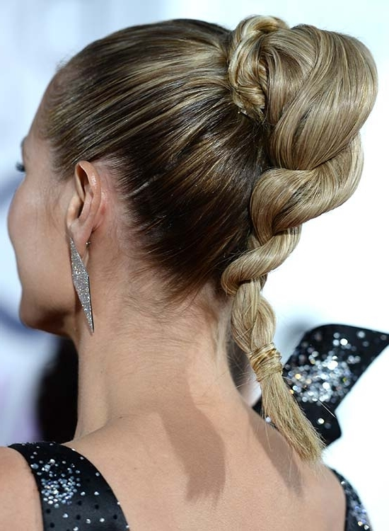 50 Braided Hairstyles That Are Perfect For Prom With Regard To Tangled And Twisted Ponytail Hairstyles (View 25 of 25)