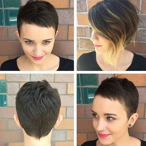 50 Chic Everyday Short Hairstyles For Women 2018 – Pixie, Bobs,pageboy Within Cute Shaped Crop Hairstyles (View 10 of 25)