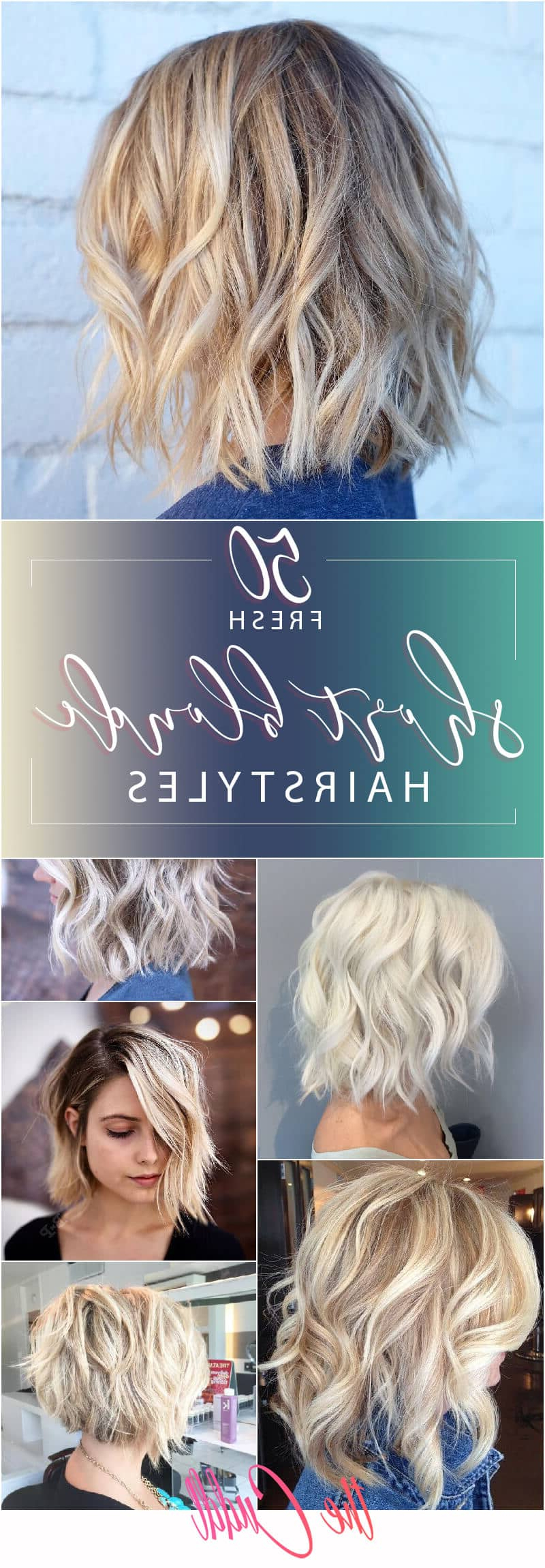 50 Fresh Short Blonde Hair Ideas To Update Your Style In 2018 With Regard To Short Blonde Styles (View 18 of 25)