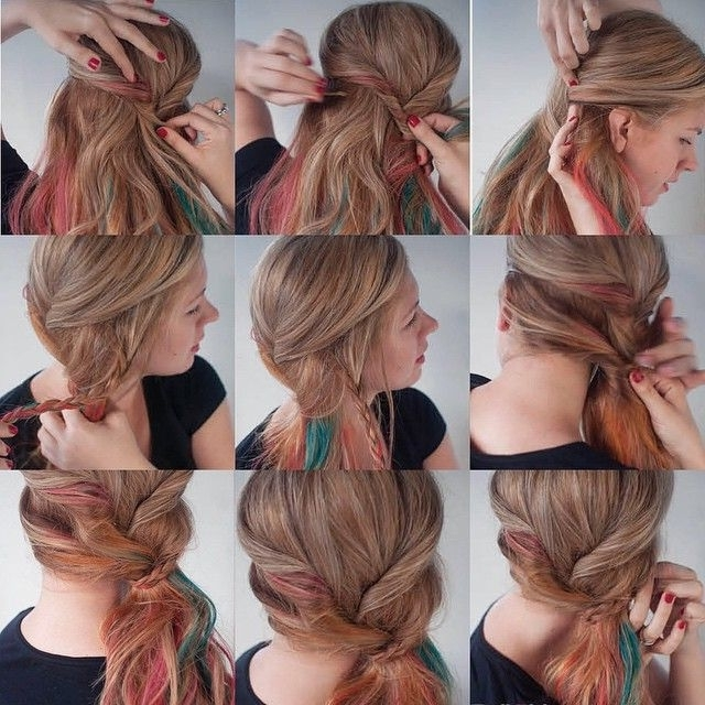 50 Glamorous Ponytail Hairstyles Tutorials For Summer You Need To Inside Tangled And Twisted Ponytail Hairstyles (View 3 of 25)