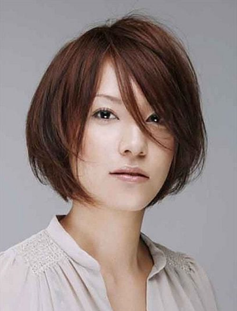 50 Glorious Short Hairstyles For Asian Women For Summer Days 2018 With Regard To Short Hairstyles For Asian Round Face (View 3 of 25)