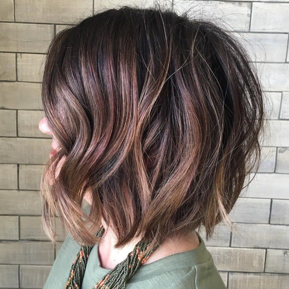 50 Gorgeous Wavy Bob Hairstyles With An Extra Touch Of Femininity Within Wavy Sassy Bob Hairstyles (View 15 of 25)