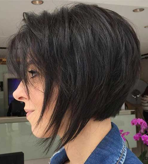 50 Latest Bob Haircuts For 2018   Short Hairstyles 2017 – 2018 Intended For Razored Brown Bob Hairstyles (View 8 of 25)