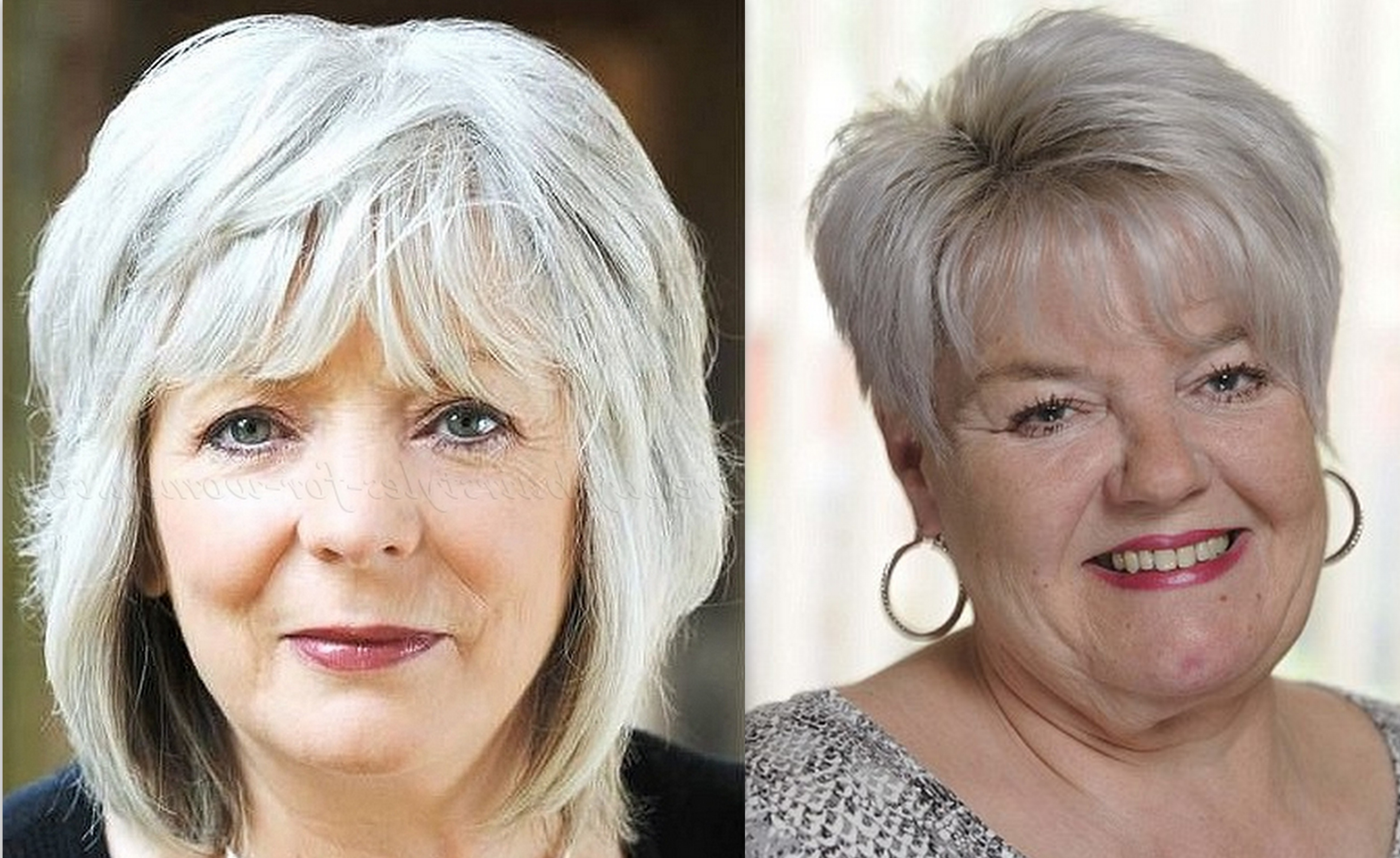 50 Latest Hairstyles For Over 60 With Round Face 2019 – Plus Size With Short Haircuts For Heavy Set Woman (View 7 of 25)