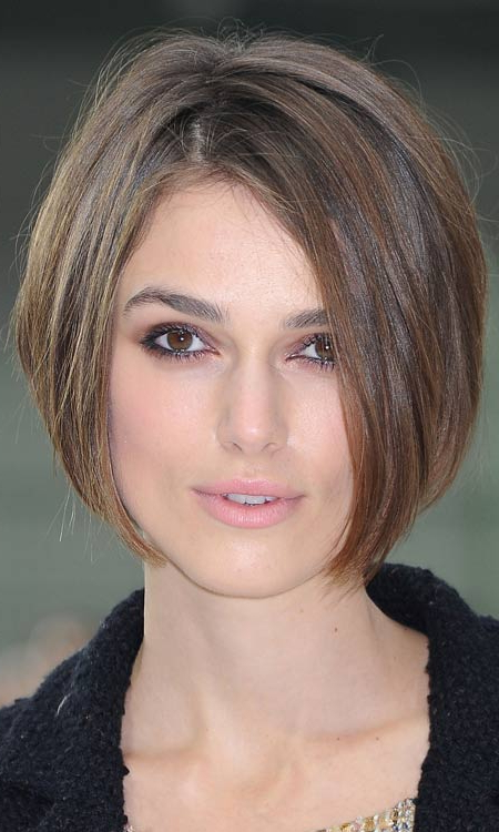 50 Most Popular Bob Shaped Hairstyles In Sleek Blonde Bob Haircuts With Backcombed Crown (View 10 of 25)
