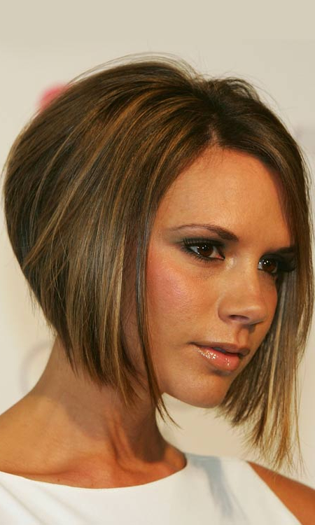50 Most Popular Bob Shaped Hairstyles Pertaining To Sleek Rounded Inverted Bob Hairstyles (View 12 of 25)