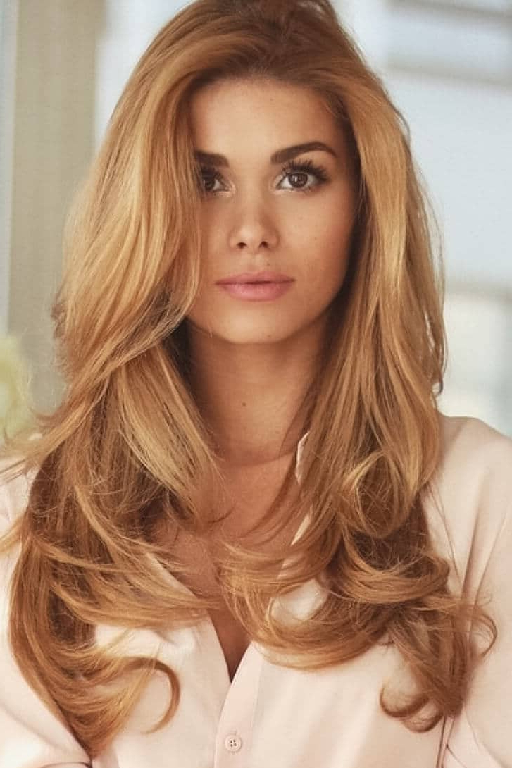 50 Of The Most Trendy Strawberry Blonde Hair Colors For 2018 In Strawberry Blonde Short Haircuts (View 8 of 25)