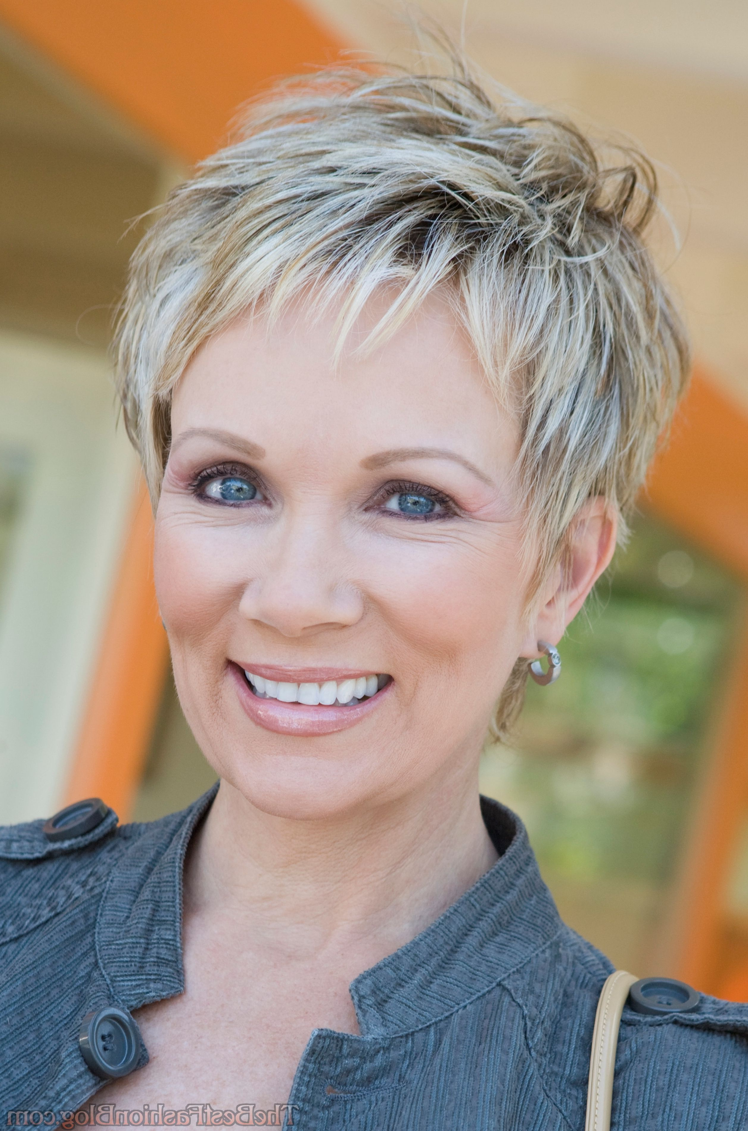 50 Perfect Short Hairstyles For Older Women | Pixie | Pinterest Inside Older Women Short Haircuts (View 3 of 25)