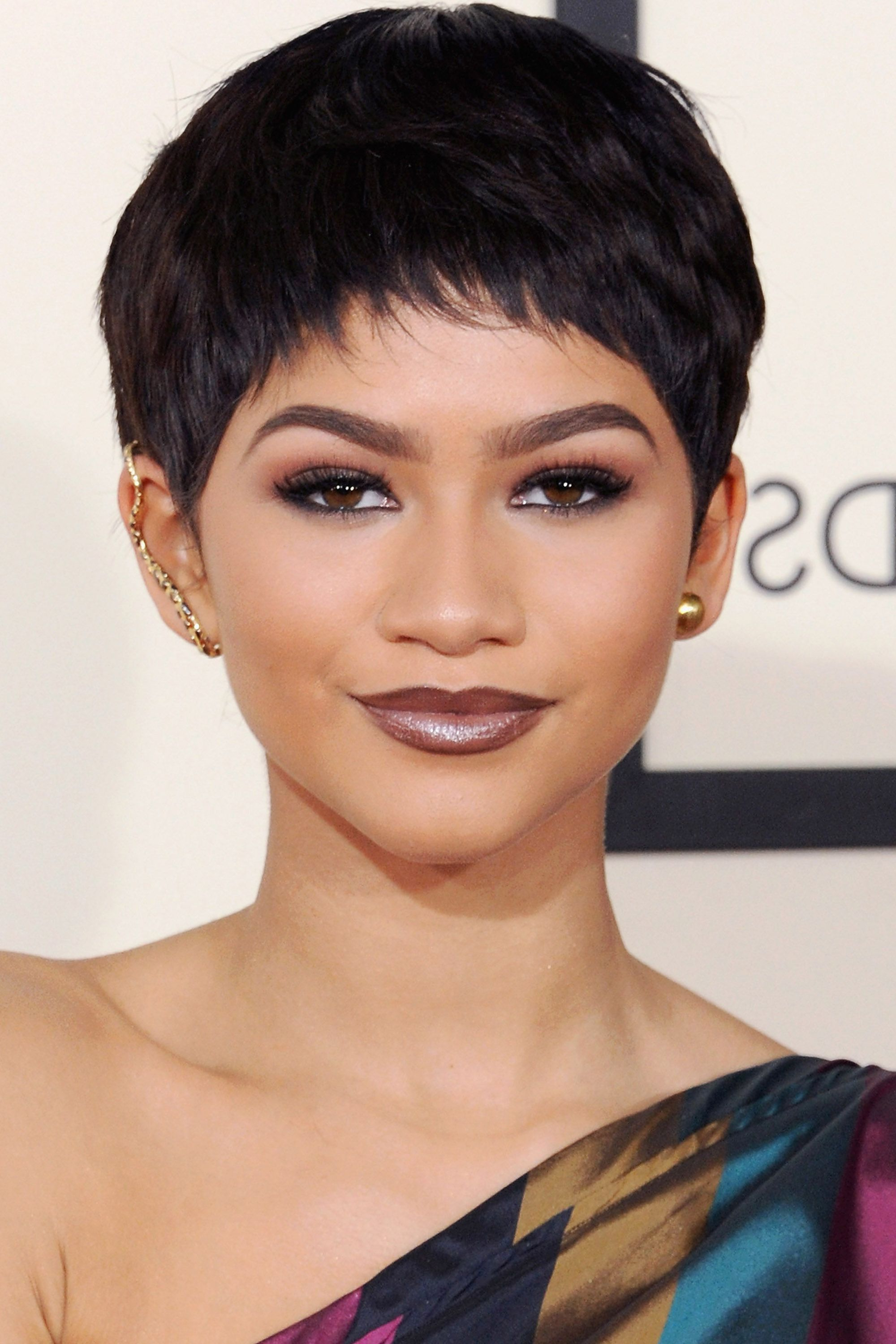 50+ Pixie Cuts We Love For 2018 – Short Pixie Hairstyles From In Short Haircuts With Long Fringe (View 24 of 25)