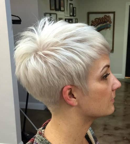 50 Pixie Haircuts You'll See Trending In 2018 In Messy Sassy Long Pixie Haircuts (View 16 of 25)