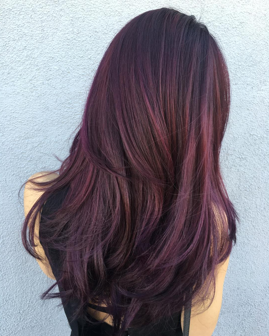 50 Shades Of Burgundy Hair: Dark, Maroon, Red Wine, Red Violet For Burgundy Short Hairstyles (View 16 of 25)