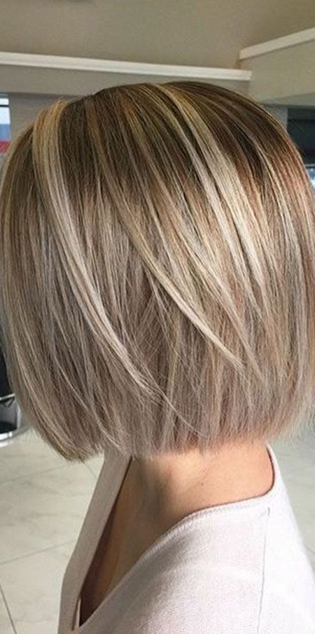 50 Short Bob Hairstyles 2015 – 2016 In 2018 | Hair | Pinterest For Short Razored Blonde Bob Haircuts With Gray Highlights (View 3 of 25)
