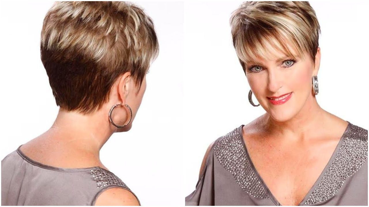 50 Short Hairstyles For Thin Hair And Round Face Elegant Stunning In Short Hairstyles For Round Faces With Double Chin (View 7 of 25)
