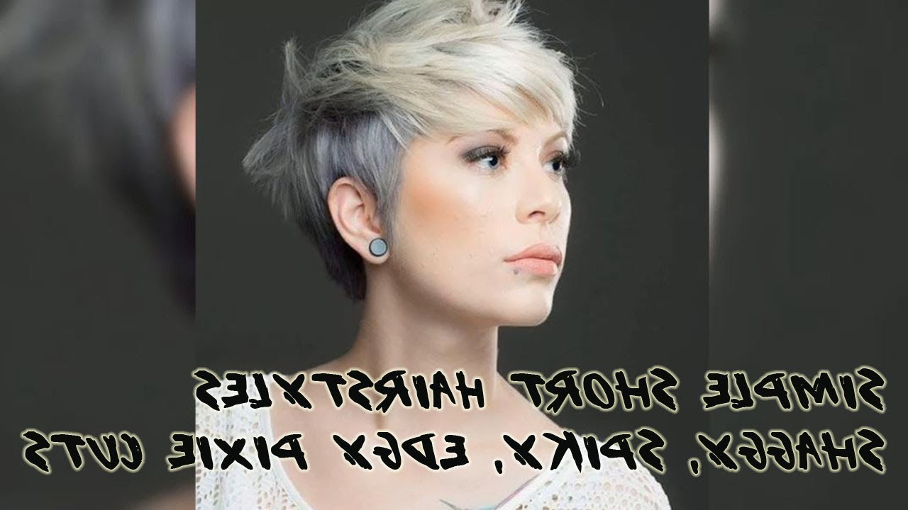 50+ Simple Short Hairstyles Shaggy, Spiky, Edgy Pixie Cuts For Women Regarding Edgy Short Haircuts (View 7 of 25)