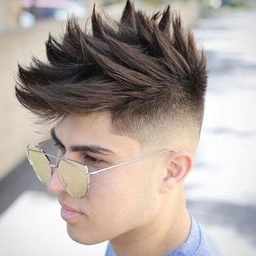 50 Spiky Hairstyles For Men – Men Hairstyles World With Regard To Textured Undercut Pixie Hairstyles (View 22 of 25)