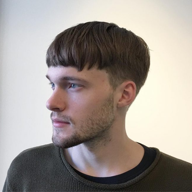 50 Stunning Bowl Cut Designs – For Stylish Men (2018) Throughout Tapered Bowl Cut Hairstyles (View 13 of 25)
