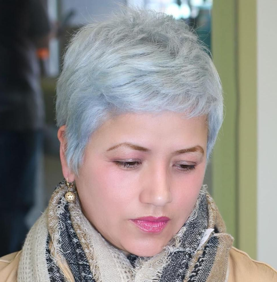 50 Super Cute Looks With Short Hairstyles For Round Faces   Hair In Super Short Hairstyles For Round Faces (View 9 of 25)