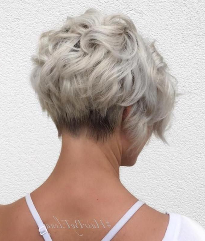 50 Trendiest Short Blonde Hairstyles And Haircuts | Pixie Cuts With Regard To Long Messy Ash Blonde Pixie Haircuts (View 2 of 25)