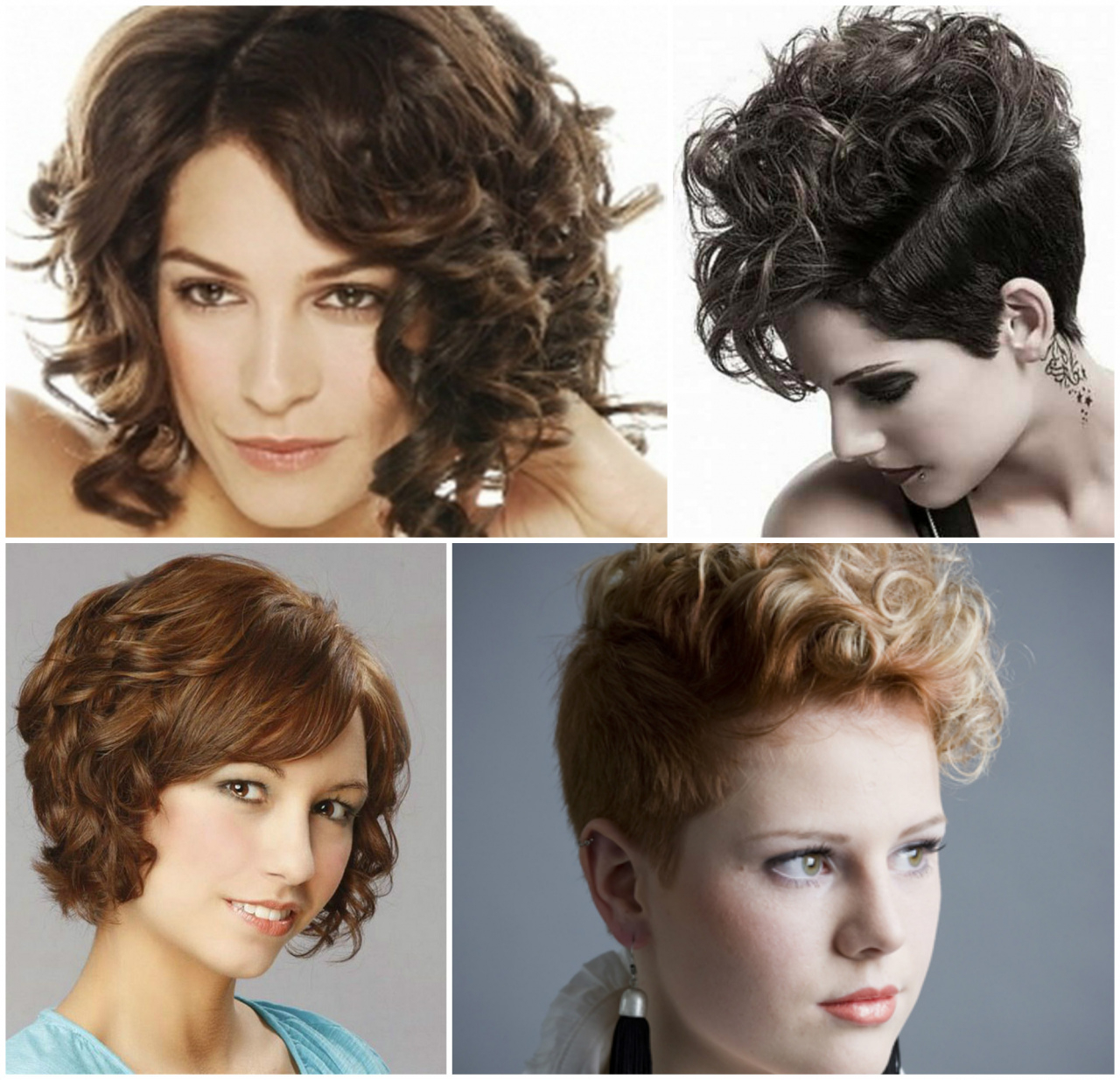50 Trendy Short Hairstyles 2017 Best Of Stunning Medium Short Curly With Regard To Trendy Short Curly Hairstyles (View 8 of 25)