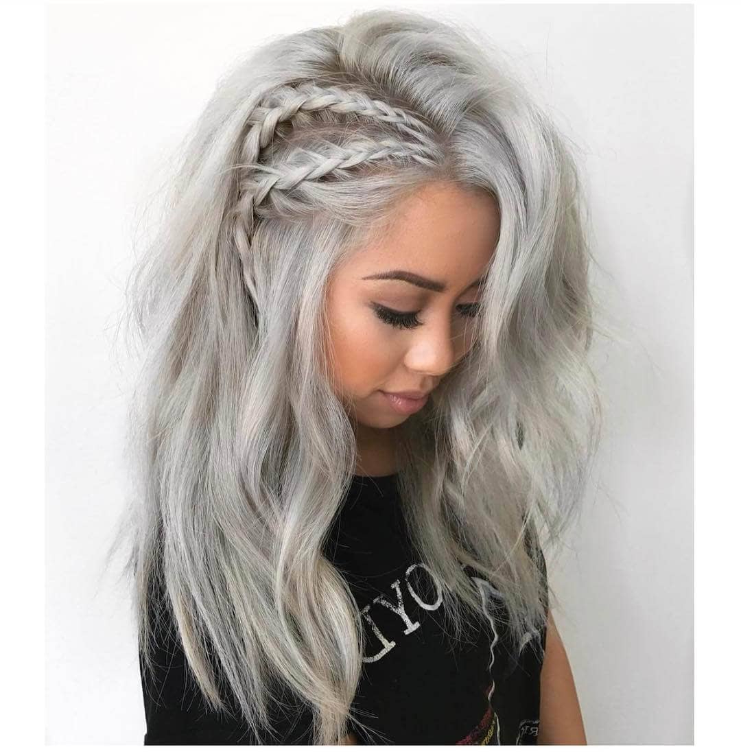 50 Unforgettable Ash Blonde Hairstyles To Inspire You Within Ash Blonde Short Hairstyles (View 24 of 25)