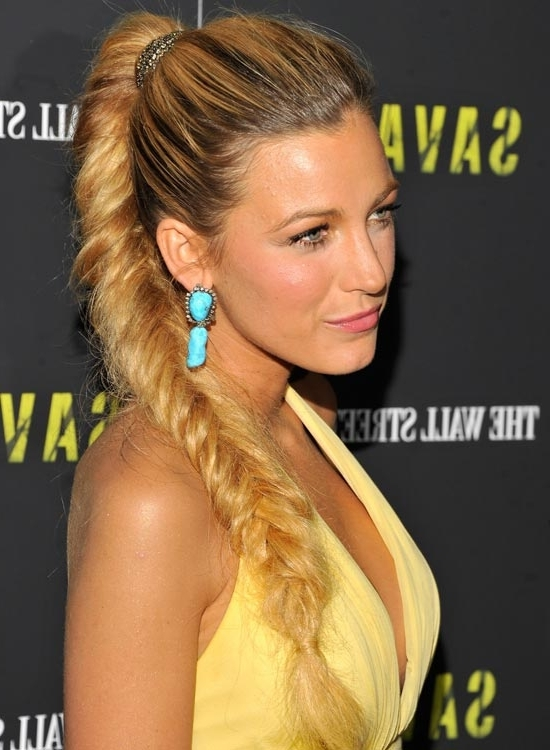 50 Unique Hairstyles For Long Hair Throughout Flowy Side Braid Ponytail Hairstyles (View 10 of 25)